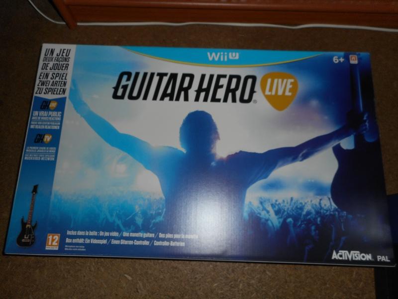 Collection yan67 : Arrivées Jeux PS1(19) et NES  p5 : 07/09/16 - Page 3 Guitar10