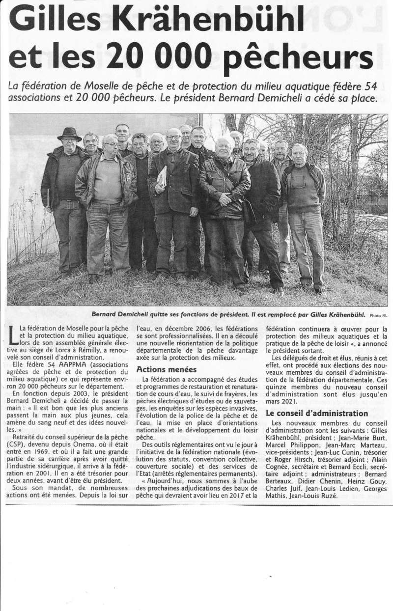 Nouveau CA de la Fédération de pêche de Moselle Fede10