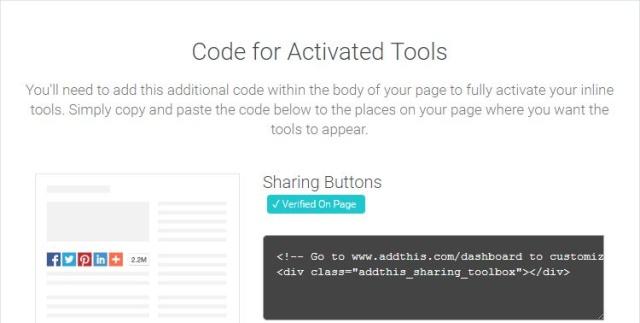 Chèn button Facebook, Twitter, Google+ vào forum Addthi11