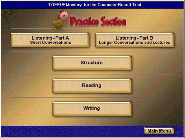 Phần mềm luyện thi TOEFL MASTERY 2.0 Toefl_11