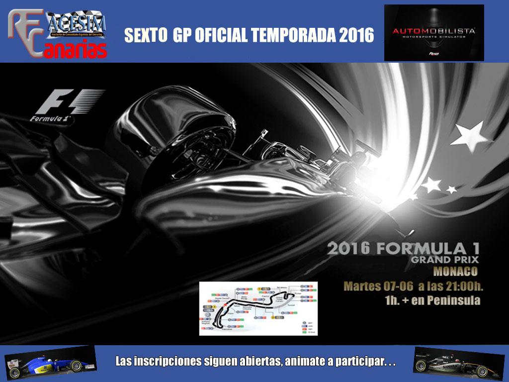 FORMULA ONE MONACO 2016 Gp_mon13