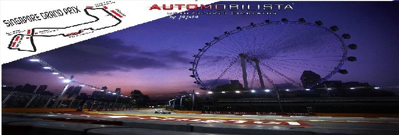 CIRCUITOS F-ONE CON DRS  Singap10