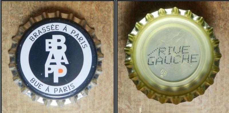 capsules de bière françaises avec un intérieur imprimé B10
