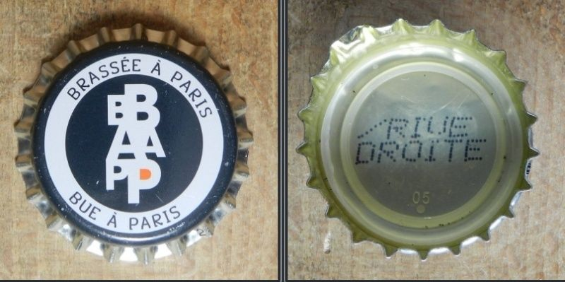 capsules de bière françaises avec un intérieur imprimé Bb10