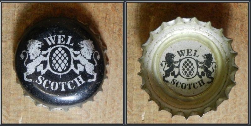 capsules de bière françaises avec un intérieur imprimé Wel10