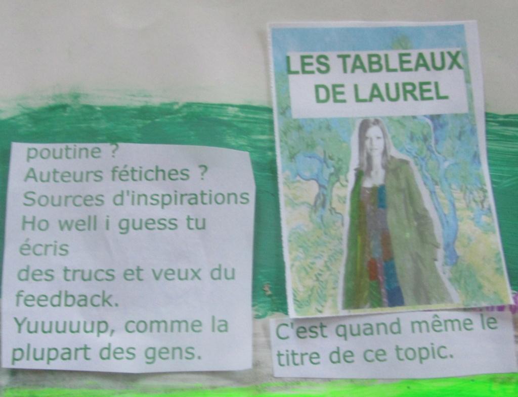 photos romans: Les tableaux de Laurel Img_2528