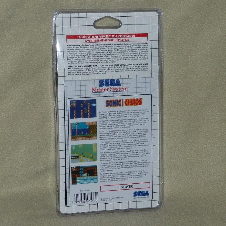 Sega vintage: Megadrive, Mastersystem,Saturn et jeux J01011