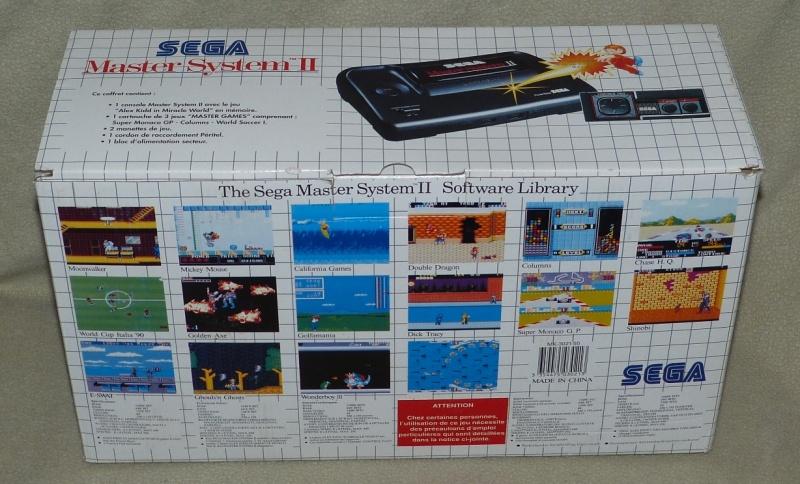 Sega vintage: Megadrive, Mastersystem,Saturn et jeux Ms0312