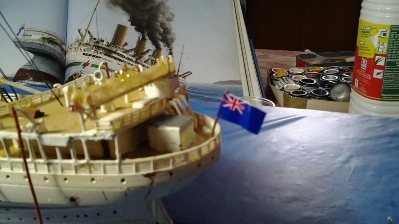 HMHS Britannic ACADEMY 1/400 20160414