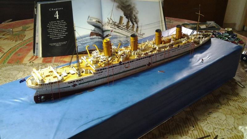 HMHS Britannic ACADEMY 1/400 20160415