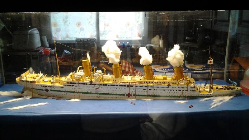 HMHS Britannic ACADEMY 1/400 20160417