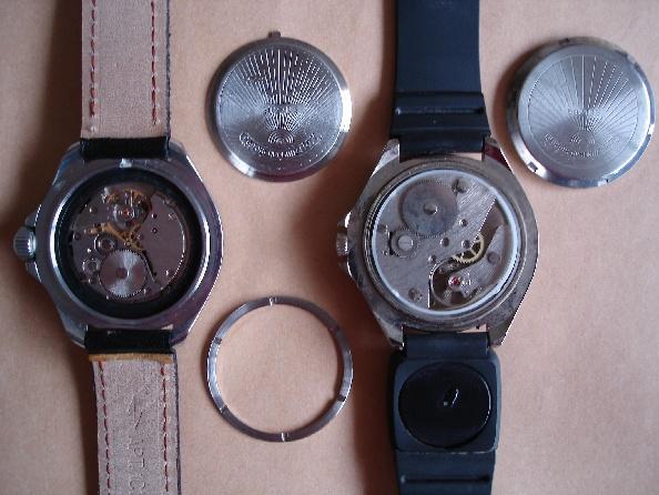 Militaria Soviétique ou pas ? montres soviétiques Vostok Vostok11
