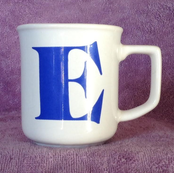 not the alphabet mug, 1431 for GALLERY 1431b10