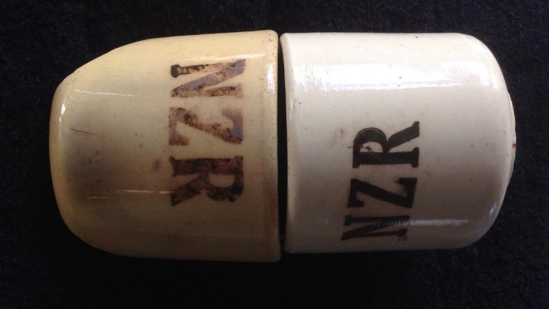 NZR shards: Ambrico NZR railway cups 1939-43 Amb510