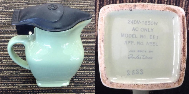 Is This J3 Made In NZ Electic kettle Jug Titian? Fowler10