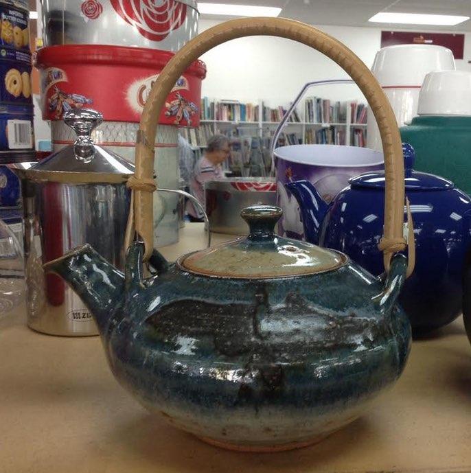 Bob Steiner handpotted: Teapot Steine11