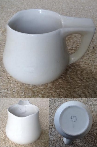 Rare Crown Lynn Jug, one of a kind? - Is a 714 old shaving mug .. Vit71410