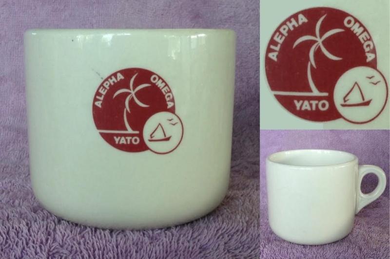 Alepha Omega Yato monogram on 700 cup Yato10