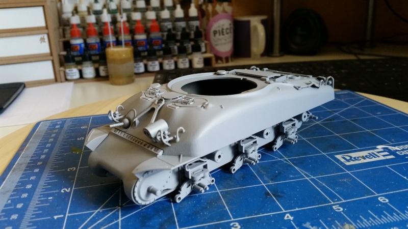 Sherman - M1 super sherman 20160411