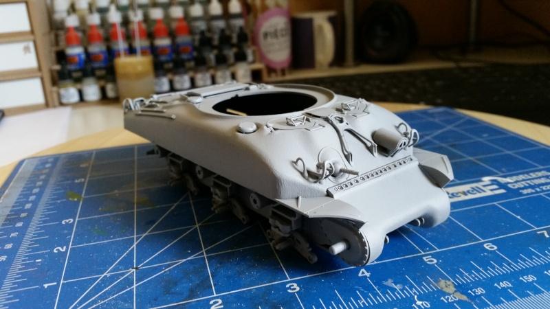 Sherman - M1 super sherman 20160412