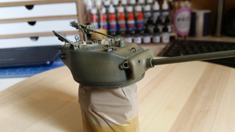 Sherman - M1 super sherman 20160420