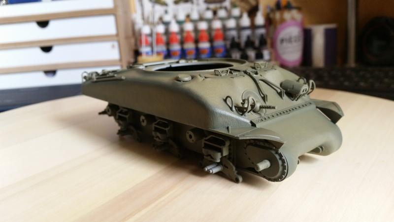 Sherman - M1 super sherman 20160422
