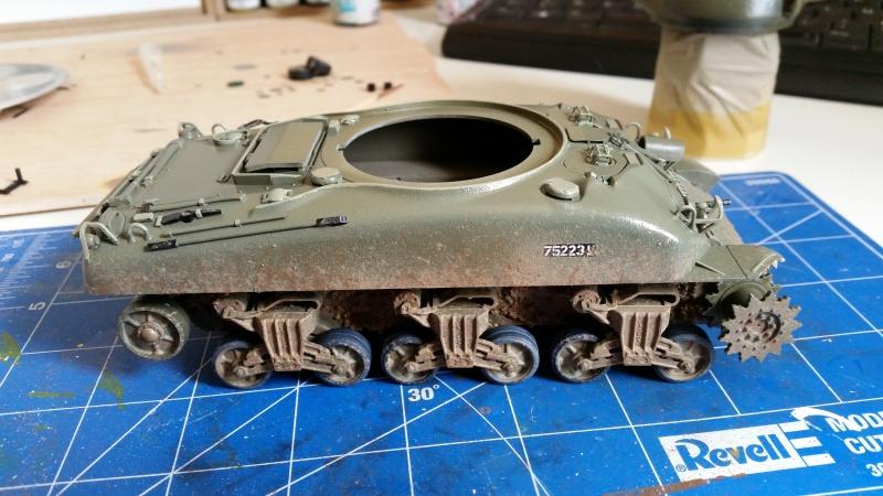 Sherman - M1 super sherman 20160510