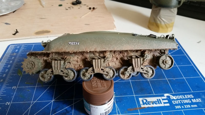 Sherman - M1 super sherman 20160512