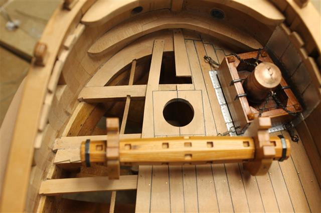 La Belle 1684 scala 1/24  piani ANCRE cantiere di grisuzone  - Pagina 4 Img_8611
