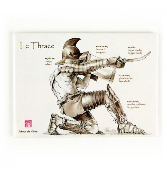 YH1833 Gladiators II 1st Century A.D par Pisco  fin Magnet10
