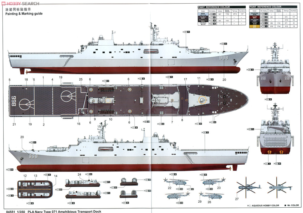 le type 071 de la Bill Marine  10232711