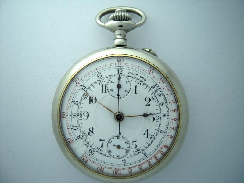 "Breitling - Chronographe gousset 19""' Breitling ?? 800p10"