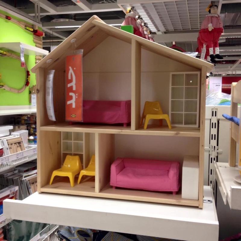 """Maison de poupées Ikea """"FLISAT"""" 12994311"""
