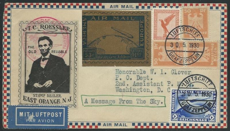nach - Südamerikafahrt 1930, Post nach Lakehurst - Seite 4 57_e_r11