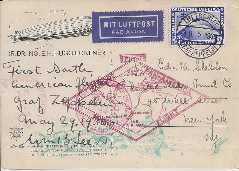 nach - Südamerikafahrt 1930, Post nach Lakehurst - Seite 4 57_e_w11