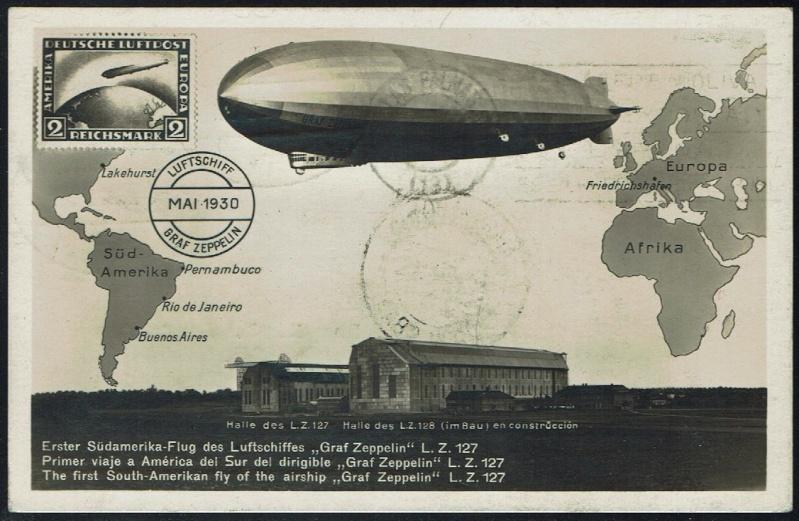 nach - Südamerikafahrt 1930, Post nach Praia (Kapverdische Inseln) 57_j_d11