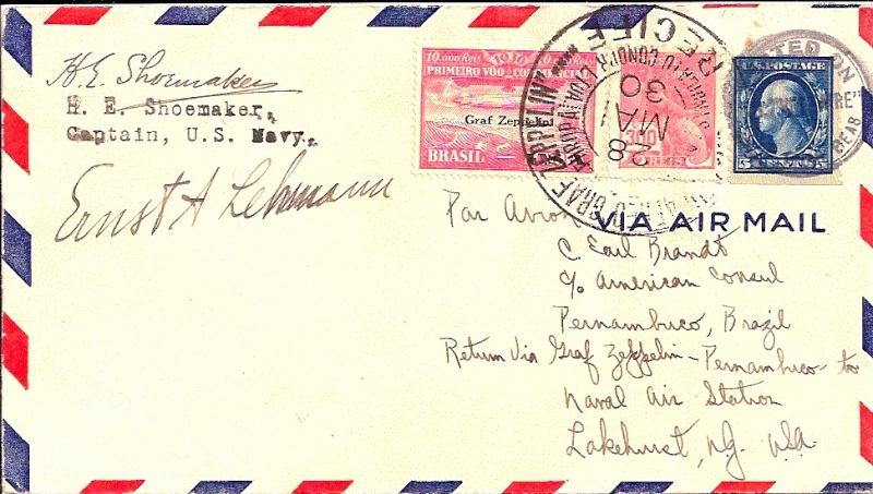 nach - Südamerikafahrt 1930, Post nach Lakehurst - Seite 4 59_e_s11