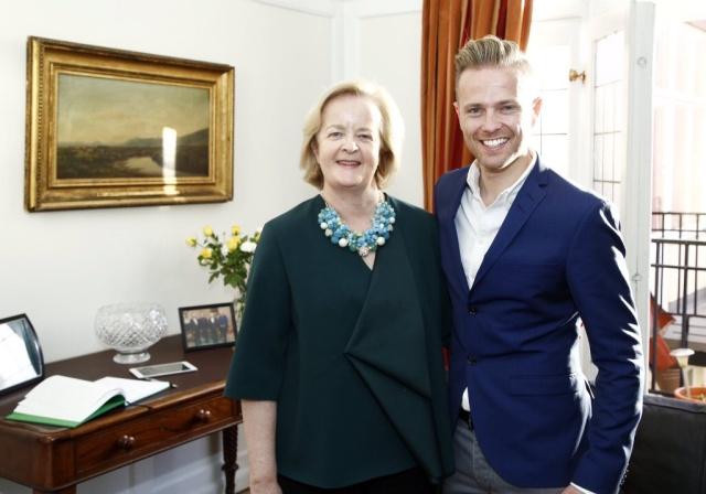 Irish Embassy in Sweden Hosts Special Evening for Team Ireland - 5.05.16 01310