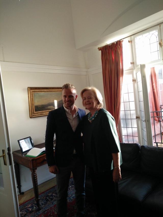 Irish Embassy in Sweden Hosts Special Evening for Team Ireland - 5.05.16 02110