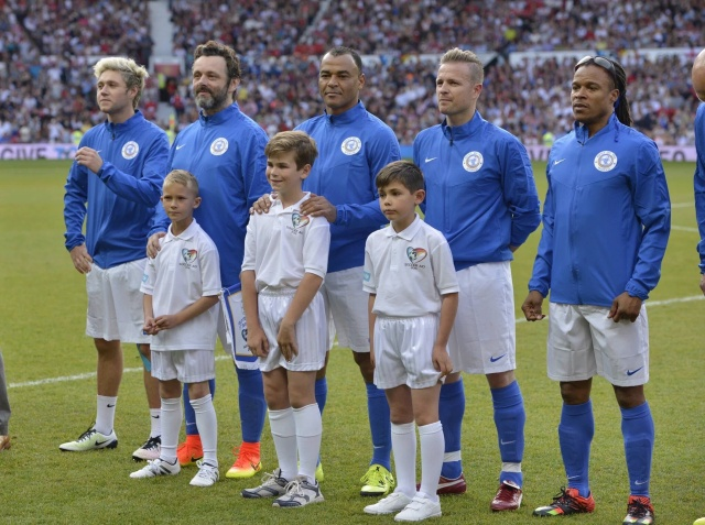 Soccer Aid Pre-Game 034411