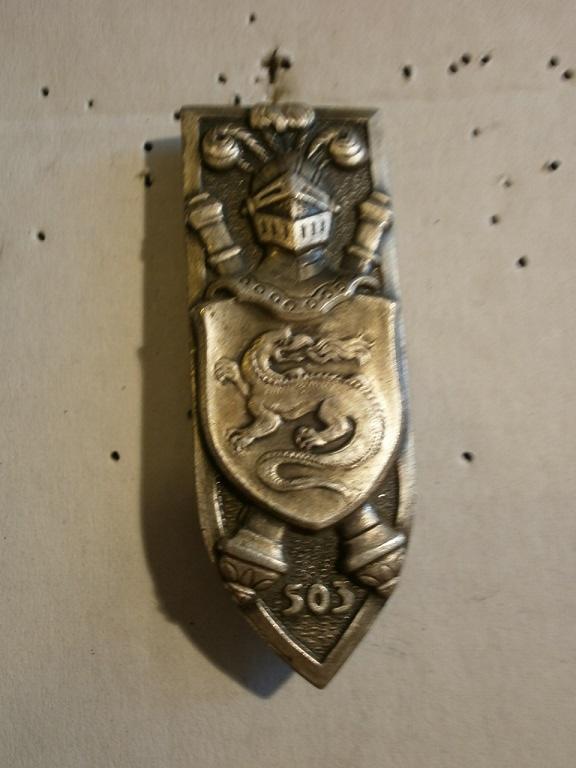 Theme de collection le  501 Regiment de char de combat  Lot_2610