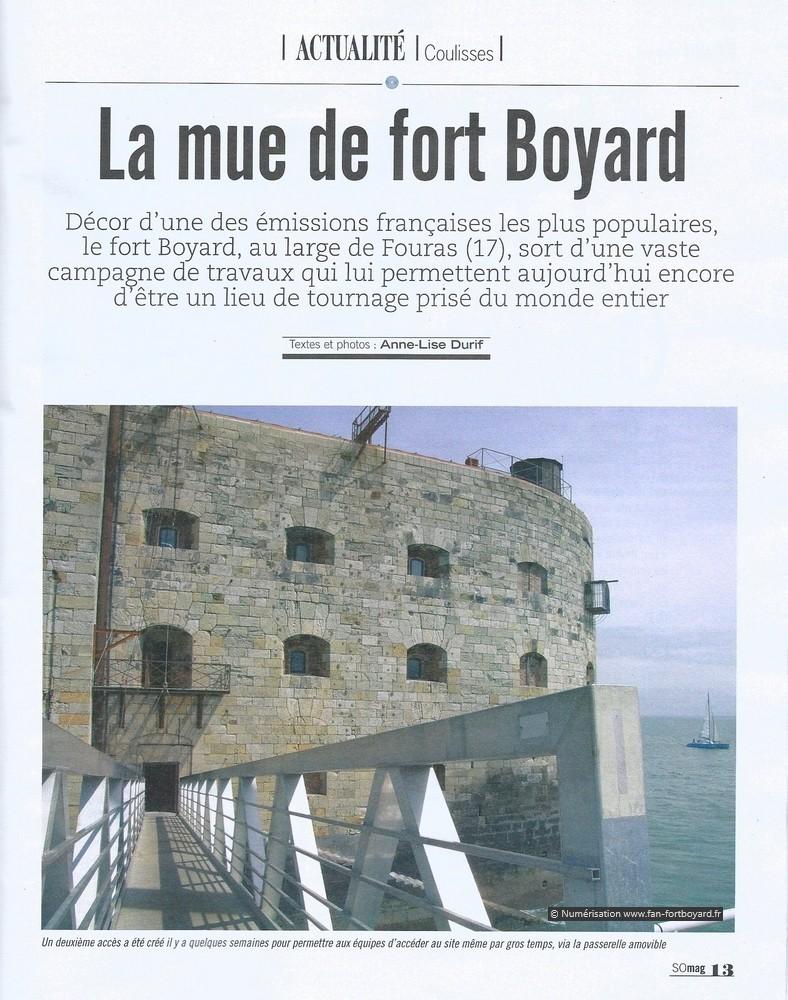 Travaux 2016 au Fort Boyard : Création d'un 2e accès depuis la plate-forme - Page 3 Mag_su10