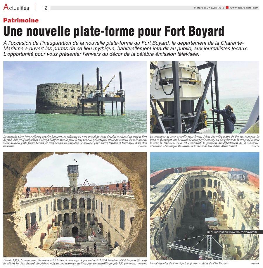 Travaux 2016 au Fort Boyard : Création d'un 2e accès depuis la plate-forme - Page 3 Phare_11
