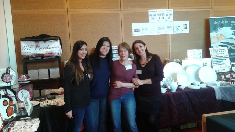 belles rencontres entre forumeuses, salon de Lyon 20160313