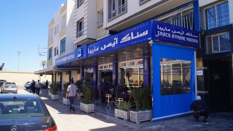 [Maroc/Commerces] Restaurant poissons à El Jadida Dsc05710