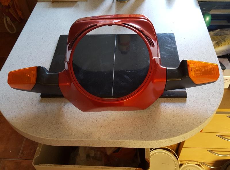 WTB 1988 k100 Standard Headlight Fairing / Radiator Cover 20160511