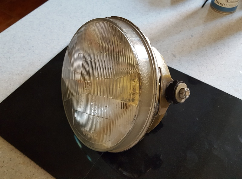 WTB 1988 k100 Standard Headlight Fairing / Radiator Cover 20160512