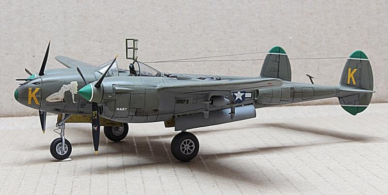 P-38J Lightning Dragon 1/72 Img_6319
