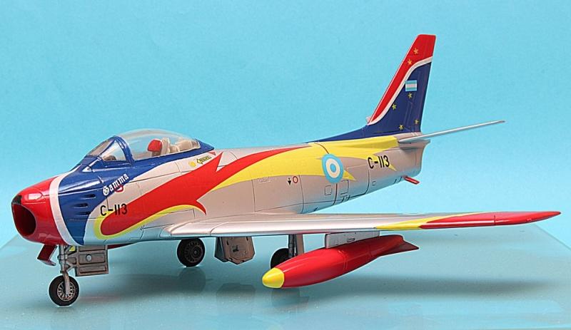 """F-86F Argentina aerobatic team """"Cruz del Sur"""" Img_6321"""