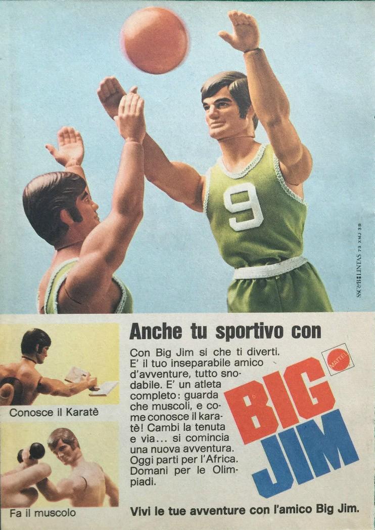 PUBBLICITA' ITALIANE BIG JIM - I PRIMI ANNI _5727